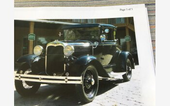 1930 Ford Model A 400 for sale 101207744