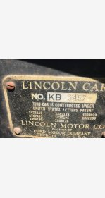 1934 Lincoln Other Lincoln Models for sale 101027269