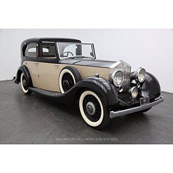 1936 Rolls-Royce 25/30HP for sale 101368721