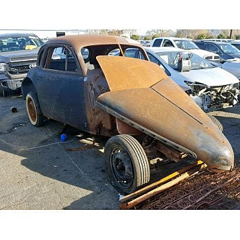1940 Chevrolet Other Chevrolet Models for sale 101126853