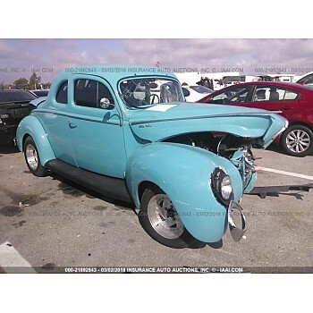 1940 Ford Deluxe for sale 101016145