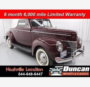1940 Ford Deluxe for sale 101382659