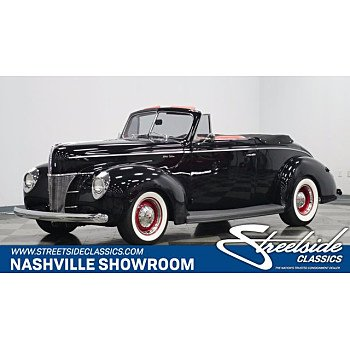 1940 Ford Deluxe for sale 101560020