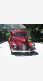 1940 Ford Other Ford Models for sale 101306480