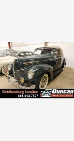 1940 Mercury Other Mercury Models for sale 101317786