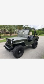 1946 Jeep CJ-2A for sale 101406861