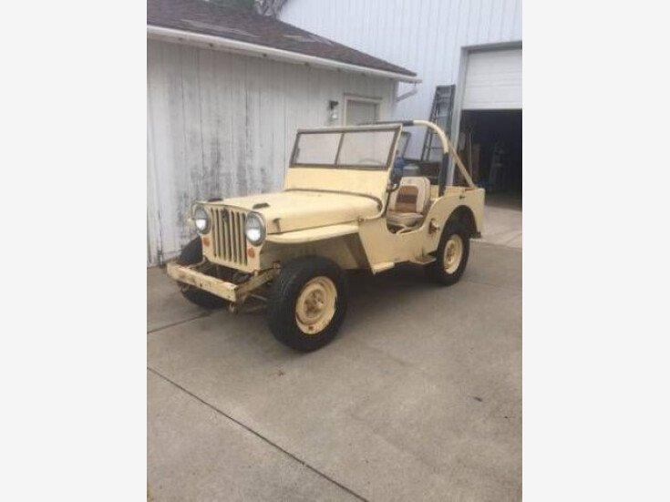 1946 Jeep CJ-2A for sale 101164527