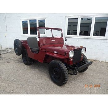 1946 Willys CJ-2A for sale 101111587