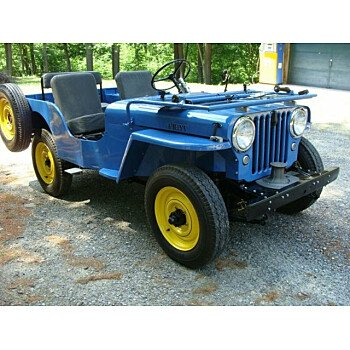 1946 Willys CJ-2A for sale 101349240