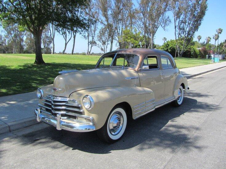 1947 Chevrolet Fleetline For Sale Near San Diego California