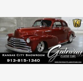 1947 Chevrolet Stylemaster Classics For Sale Classics On