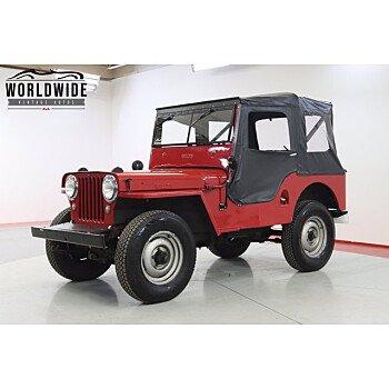 1947 Jeep CJ-2A for sale 101495822