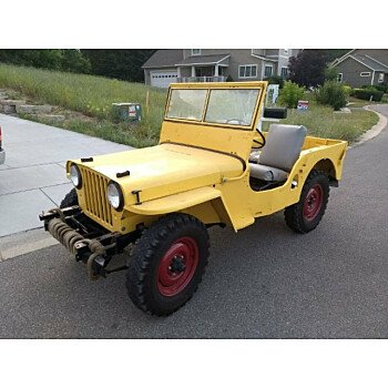 1947 Willys CJ-2A for sale 101058415