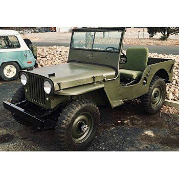 1947 Willys CJ-2A for sale 101083671