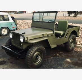 Willys Jeep For Sale >> Willys Cj 2a Classics For Sale Classics On Autotrader