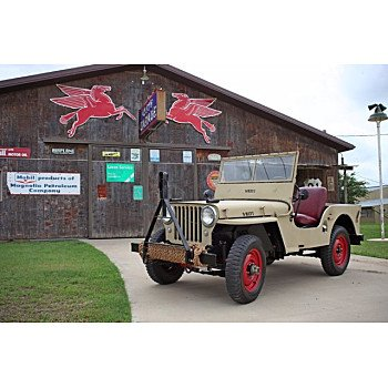1947 Willys CJ-2A for sale 101384938