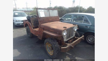 1948 Jeep CJ-2A for sale 101338465