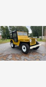 1948 Jeep CJ-2A for sale 101400365