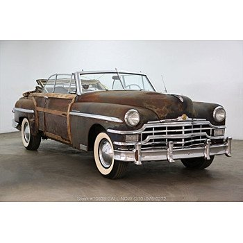 1949 Chrysler Town & Country for sale 101113566