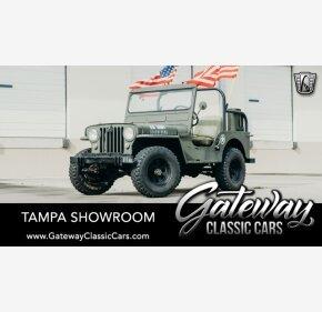 1950 Jeep CJ-3A for sale 101259570