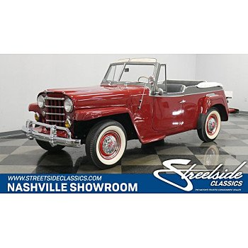 1950 Willys Jeepster for sale 101232301