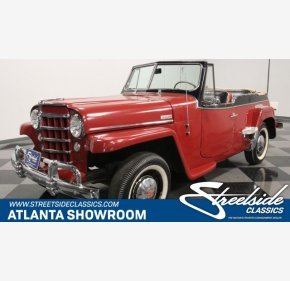 1950 Willys Jeepster for sale 101315366