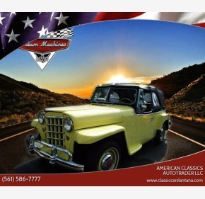 1950 Willys Jeepster for sale 101344220