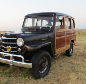 1950 Willys Station Wagon for sale 101357108