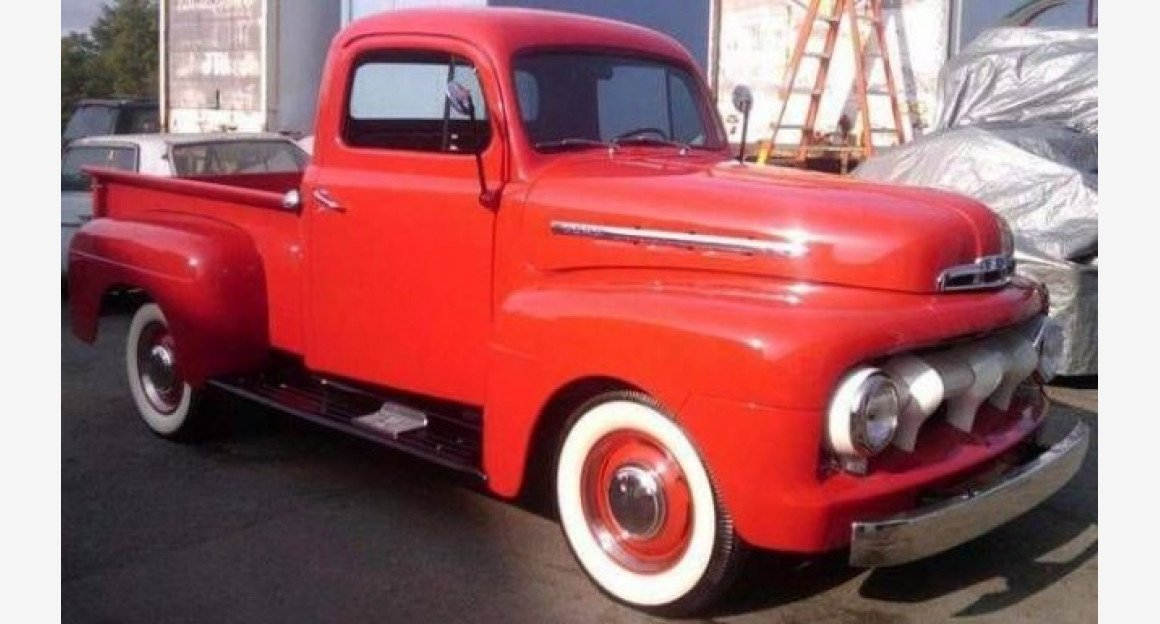1951 Ford F1 for sale 101032804