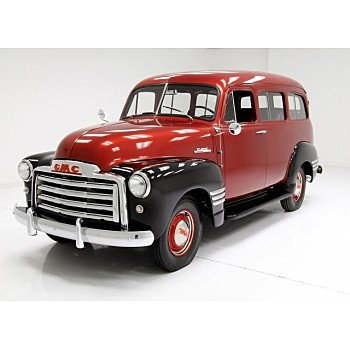 1951 GMC Suburban for sale 101060795