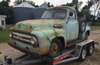 1953 Ford F100 2WD Regular Cab for sale 101115978