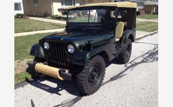 1954 Willys M-38 for sale 101600379