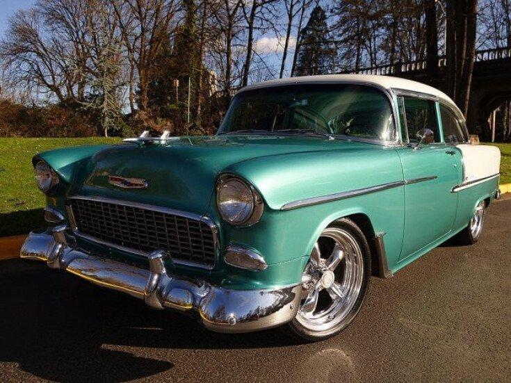 1955 Chevrolet Bel Air For Sale Near Eugene Oregon 97403 Classics