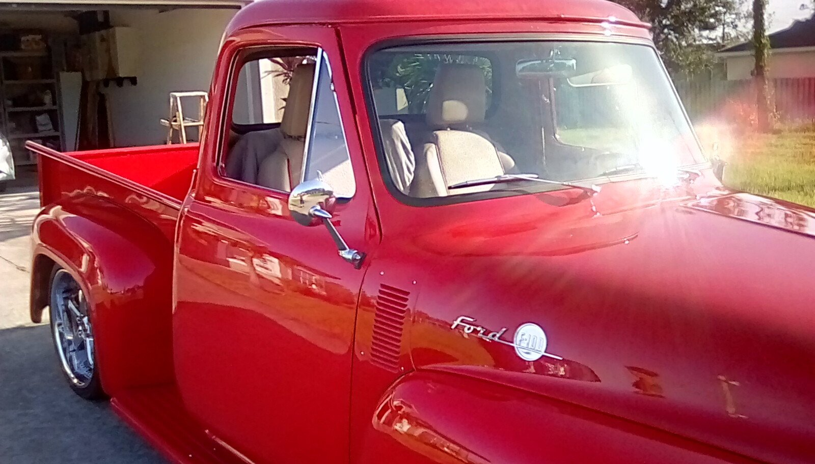 1955 Ford F100 Classics For Sale On Autotrader Interior Seat