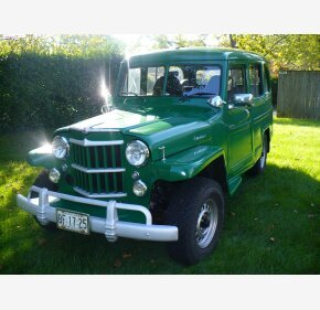 1955 Willys Station Wagon for sale 101404067