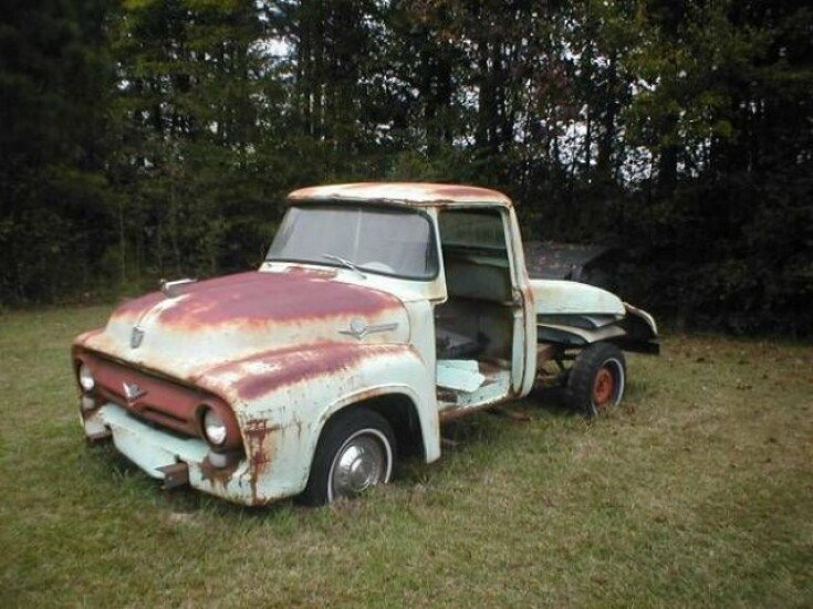 1956 Ford F100 For Sale Near Cadillac Michigan 49601 Classics On