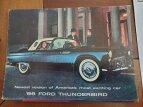 1956 Ford Thunderbird for sale 101478328