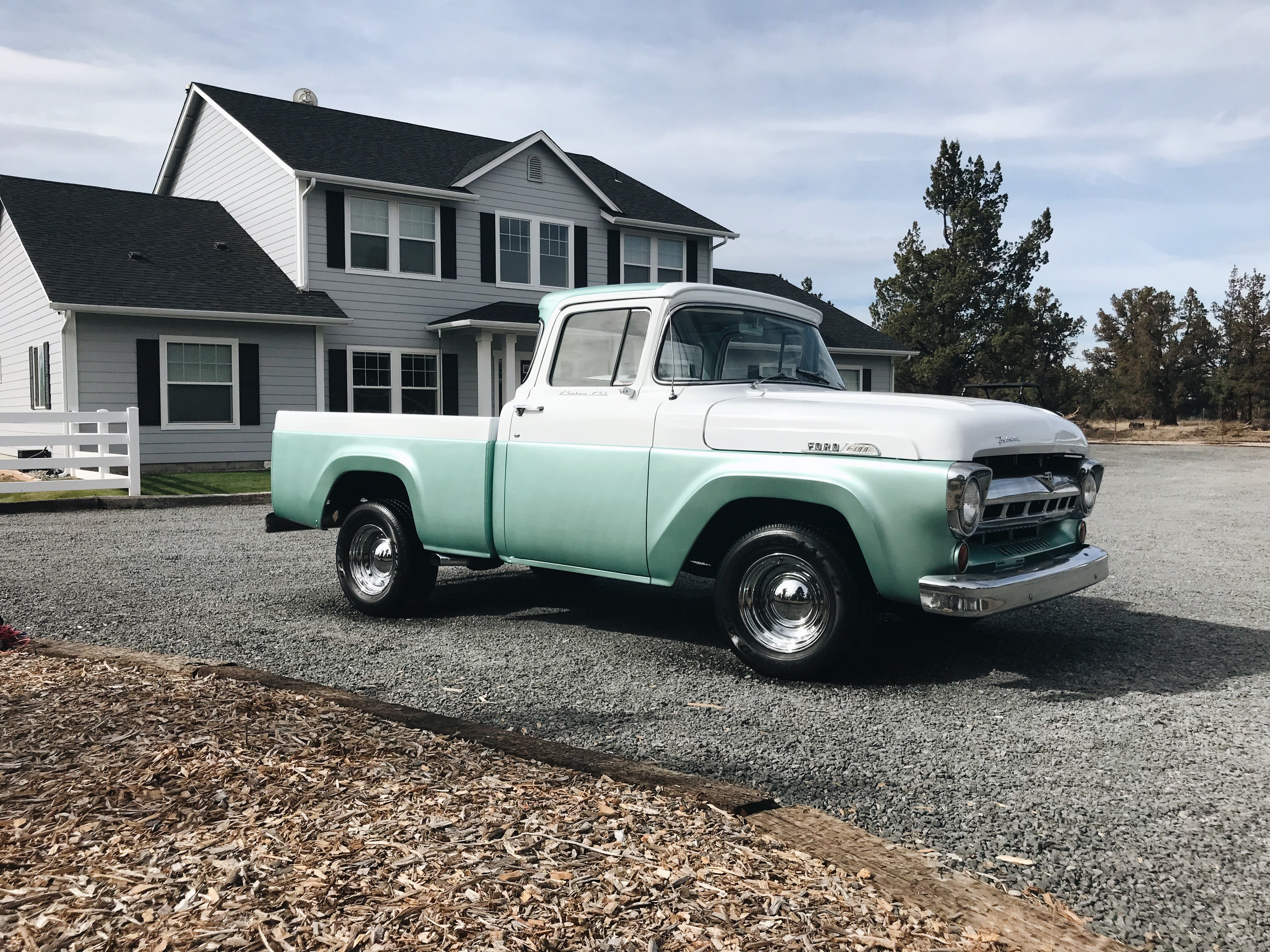 1957 Ford F100 Classics For Sale On Autotrader 1955 V8 Conversion