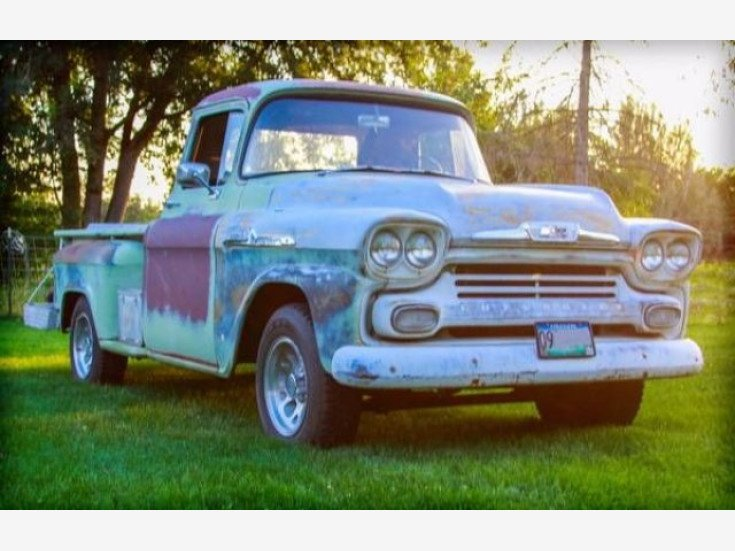 1958 Chevy Apache For Sale >> 1958 Chevrolet Apache For Sale Near Cadillac Michigan 49601