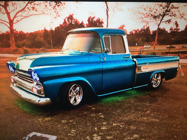 1958 Chevy Apache For Sale >> 1958 Chevrolet Apache For Sale Near Lakeside Montana 59922