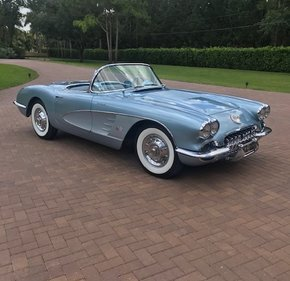 1958 Chevrolet Corvette Convertible for sale 101382567