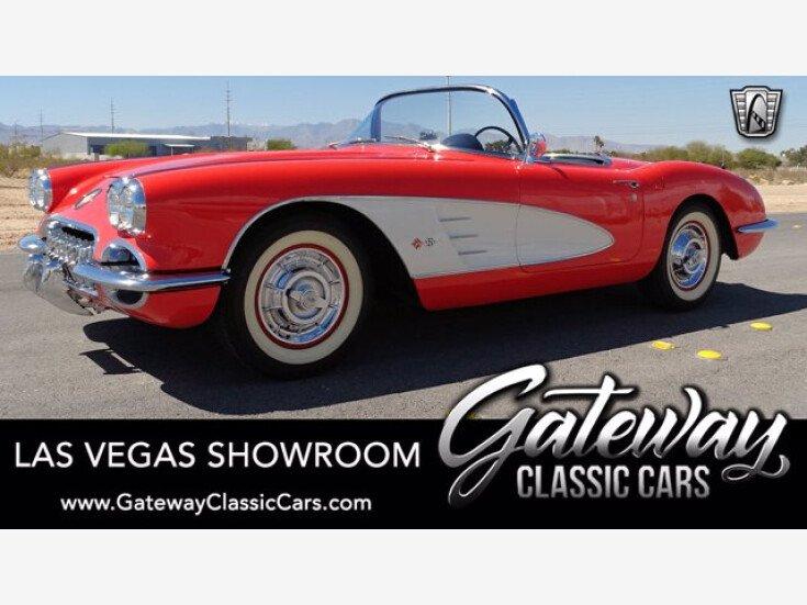 1958 Chevrolet Corvette for sale 101494067