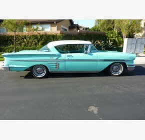 1958 Chevrolet Impala Classics For Sale Classics On Autotrader