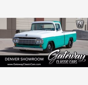 1958 Ford F100 for sale 101338769