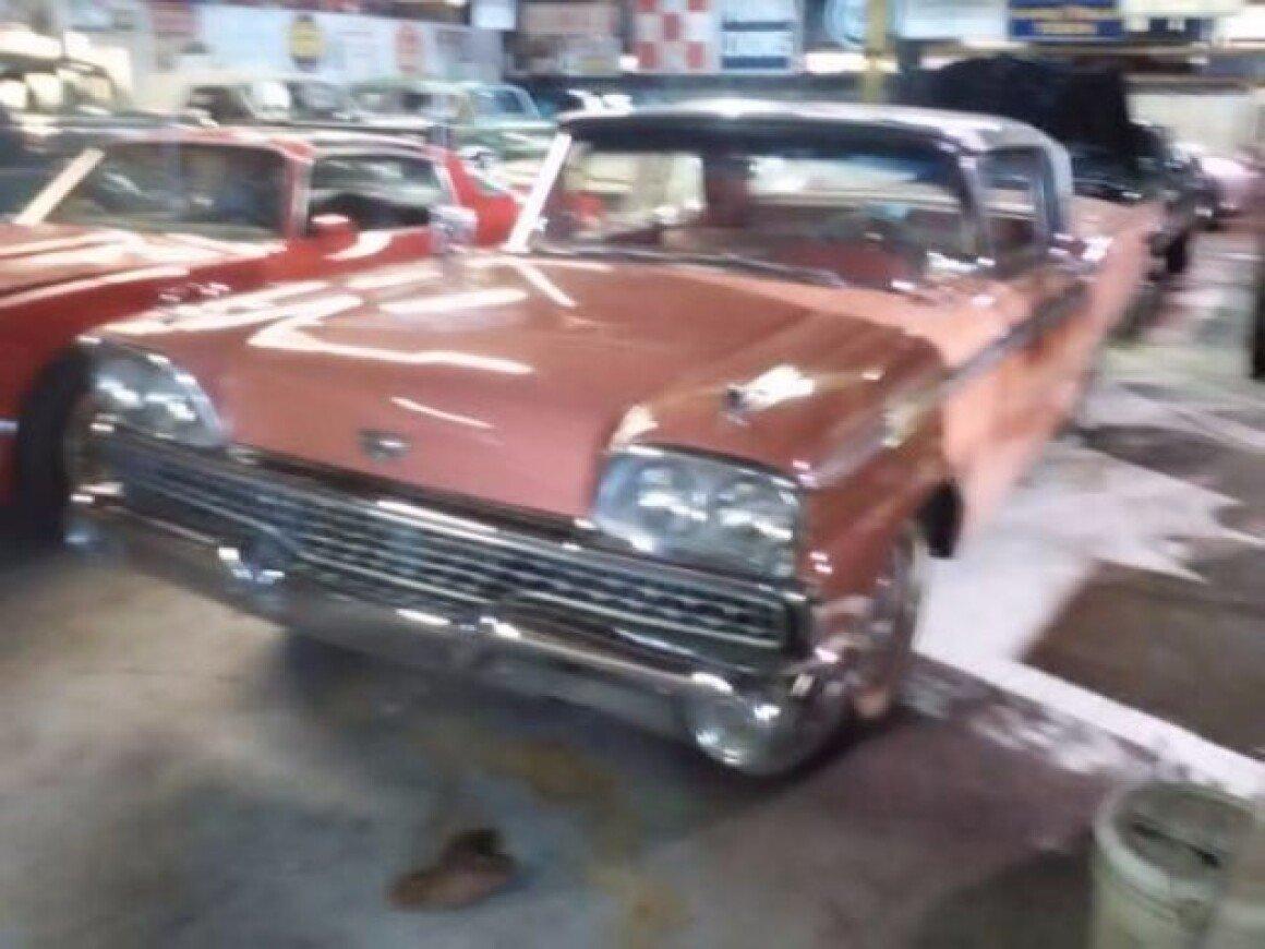 1959 Ford Galaxie For Sale Near Cadillac Michigan 49601 Classics