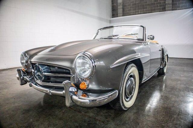 Mercedes Benz Vintage Brochure 180 180D 190 190D 220 220S 220SE 300 190SL 300SL