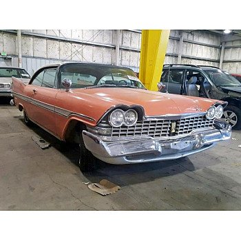 1959 Plymouth Fury for sale 101221383