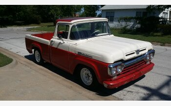 1960 Ford F100 2WD Regular Cab for sale 101098326