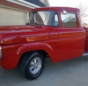 1960 Ford F100 2WD Regular Cab for sale 101098343