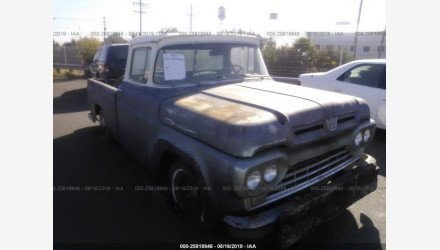 1960 Ford F100 for sale 101191575